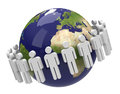 The population Royalty Free Stock Photo