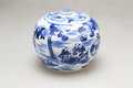 Porcelain blue and white in ancient china Royalty Free Stock Photography