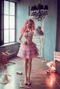 Porcelain doll girl