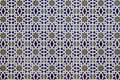 Porcelain Islamic patterns Stock Photo