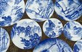 Porcelain painting Royalty Free Stock Photo