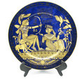 Porcelain plate Royalty Free Stock Photo