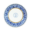 Porcelain plates Stock Photo