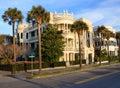 Porcher-Simonds Historical House Charleston SC Royalty Free Stock Photo