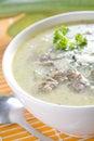 Pore soup Stock Photos