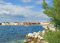 Porec istria croatia the popular village of in adriatic sea Royalty Free Stock Images