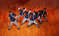 Poreotix group dance at Hip Hop International cup Royalty Free Stock Photography