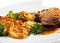 Pork Brisket with Potato Royalty Free Stock Image