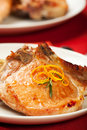 Pork Chops with Potatoes Royalty Free Stock Photography