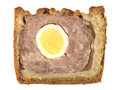 Pork and Egg Pie Stock Photos
