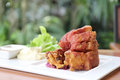 Pork knuckle Royalty Free Stock Photo