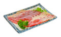Pork meat on background the Royalty Free Stock Photo