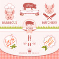 Pork, Pig, Animal Silhouette, ...