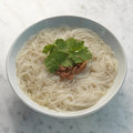 Pork rib soup noodle traditional rice side dish in singapore and malaysia for bak kut teh Royalty Free Stock Photo