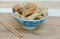 Pork rind favorite food in thailand Stock Photography