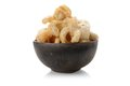 Pork rind scratchings crackling in thailand Royalty Free Stock Photos
