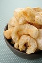 Pork rind scratchings crackling in thailand Stock Images