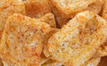 Pork Rinds Spicy Close View Royalty Free Stock Image