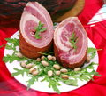Food - Pork roulade Royalty Free Stock Photo