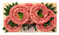 Pork sausage Royalty Free Stock Photo