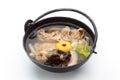 Pork Soup over White Royalty Free Stock Photo