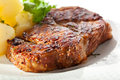 Pork Steak Royalty Free Stock Photo