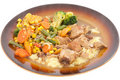 Pork Stew. Royalty Free Stock Photos