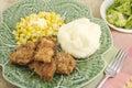 Pork Tenderloin Meal Royalty Free Stock Photo