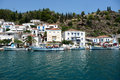 Poros island the picturesque of greece Stock Image