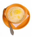 Porridge oats Stock Image