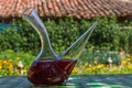 Porron Decanters Summer Sangria Royalty Free Stock Photo