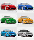Porsche Royalty Free Stock Photography