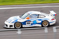 Porsche 911 GT3 race car Royalty Free Stock Photography
