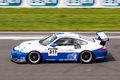 Porsche 911 GT3 race car Stock Image