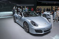 Porsche boxster s frankfurt international motor show iaa Stock Photo