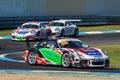 Porsche 911 Carrera race car of Shae Davies Royalty Free Stock Photo
