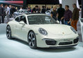 Porsche carrera th anniversary edition frankfurt international motor show iaa world premiere Stock Photo