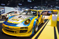 Porsche decoration and modify by singha team on thailand international motor expo nonthaburi december display at the th Stock Image