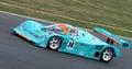 Porsche 962 Endurance car, night, Silverstone Classic 2014 Royalty Free Stock Photo