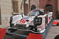 Porsche hybrid winner of the world championship lmp h racing car le mans prototype category exposed during trofeo lorenzo Stock Photo