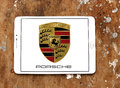 Porsche logo Royalty Free Stock Photo
