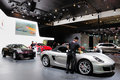 Porsche pavilion Royalty Free Stock Photo