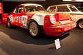 Porsche racing car on display Stock Images