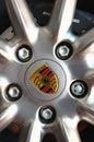 Porsche Rim Wheel Royalty Free Stock Photo