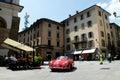 Porsche 356 Speedster at Mille Miglia 2016 Royalty Free Stock Photo
