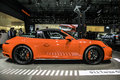 Porsche 911 Targa 4GTS shown at the New York International Auto
