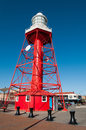 Port adelaide lighthouse in the suburb of Royalty Free Stock Photos