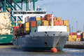 Port of Antwerp Royalty Free Stock Photo