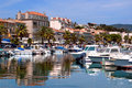Port of Bandol Royalty Free Stock Photo