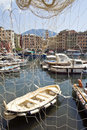 Port of Camogli Stock Photography